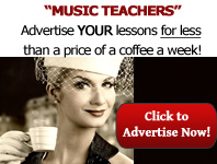 Music Teachers Advertise Your London Music Lessons
